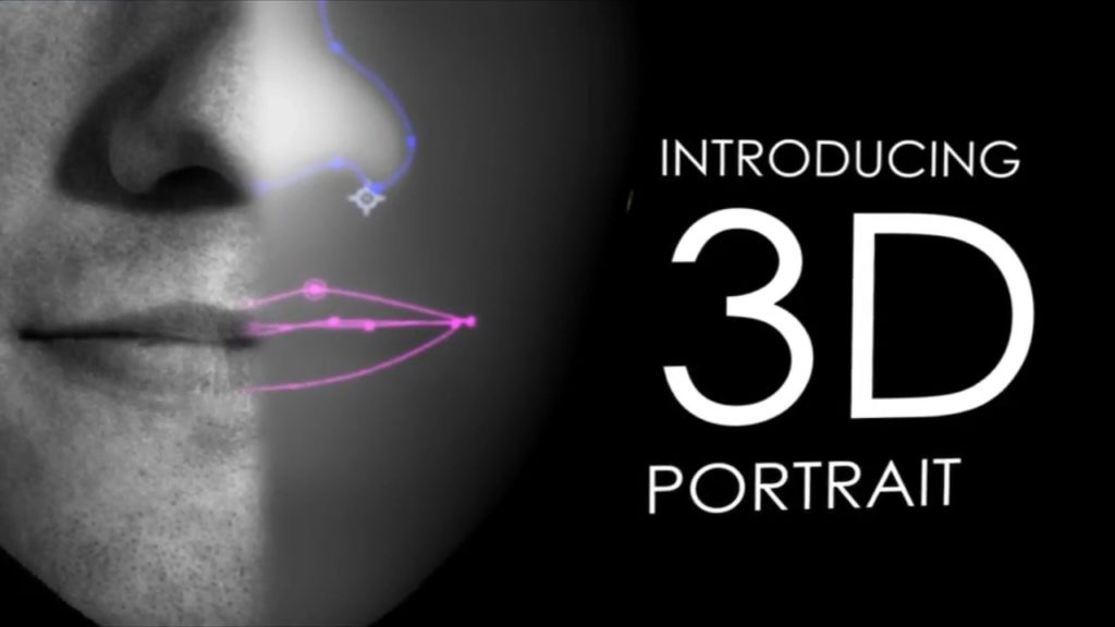 Проект портреты 3D для After Effects