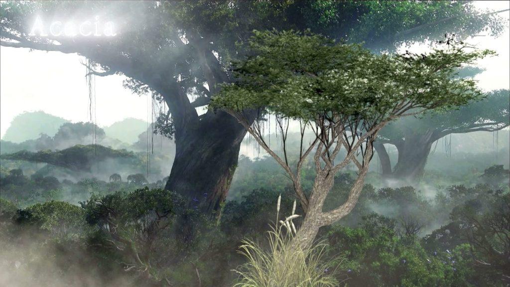 Анимация деревьев