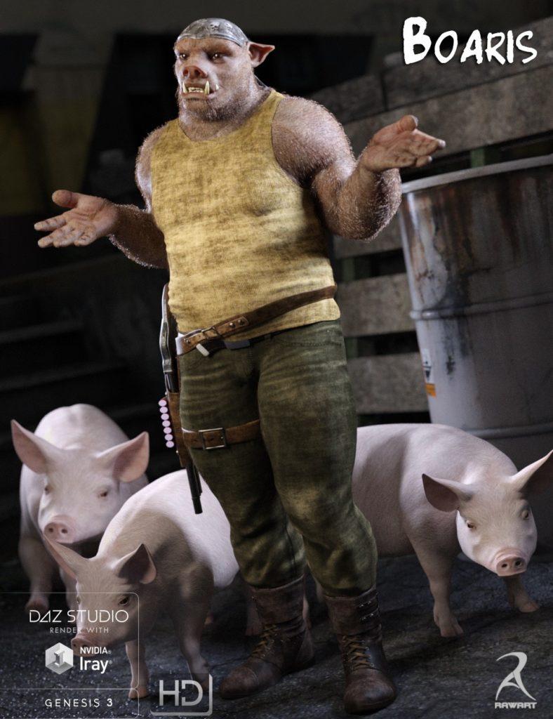 Человек-свинья для Genesis-3 Boaris