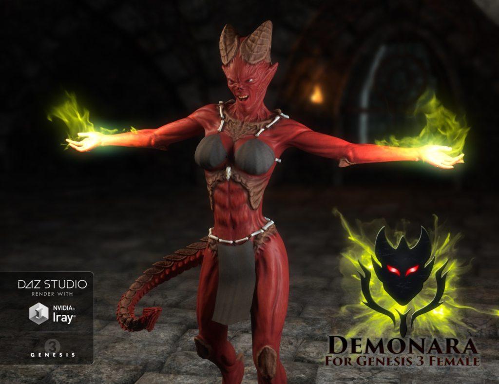 Demonaro характер Genesis-3 женщина
