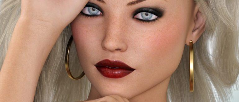 Лиля красивая девушка для Genesis 3