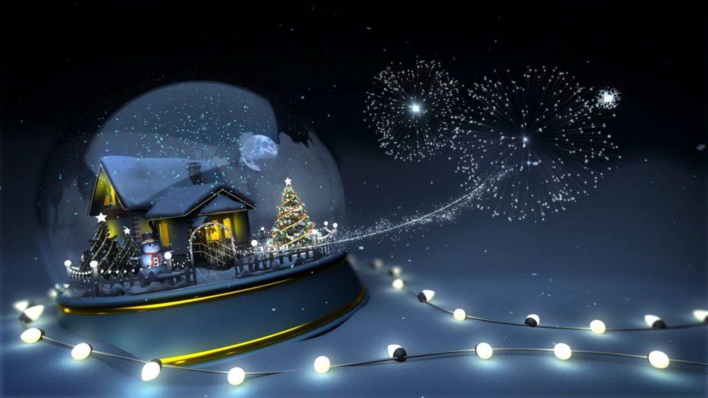 Поздравление Новым годом и Рождеством!