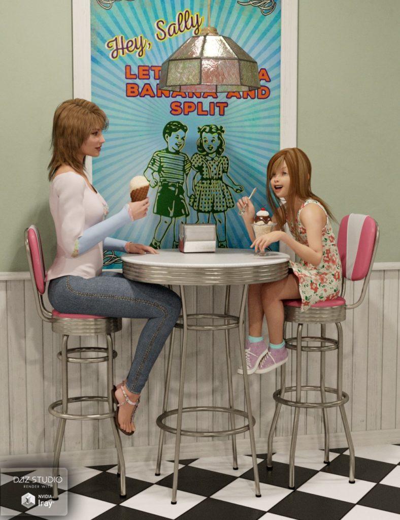 Кафе-мороженое Миранда от DAZ Studio