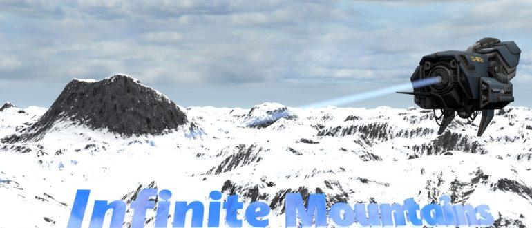 Горные цепи Infinite Mountains для Cinema 4D