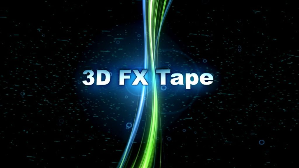 3D Вертикальная лента FX