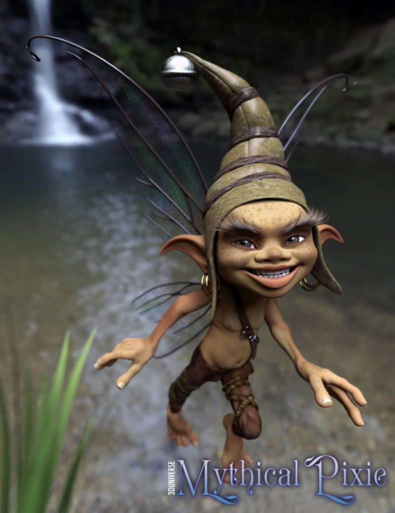 Мифический фей (mythical pixie) для Genesis-3 мужчина