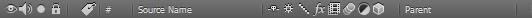 Панель опций объектов - objects options panel