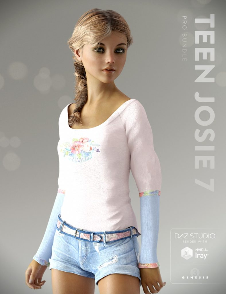 Джози 7 для Genesis-3 от DAZ Studio