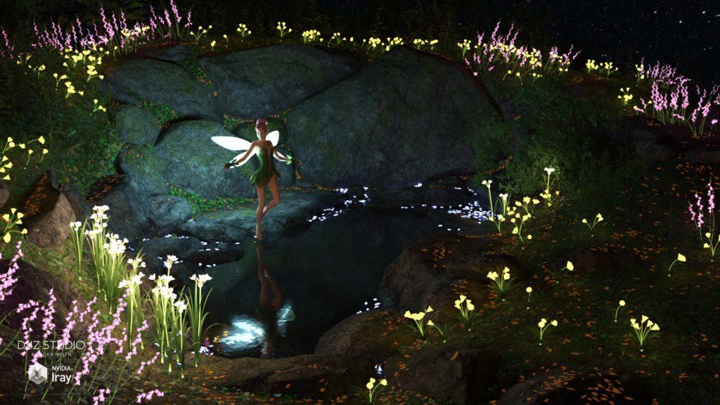 Весенняя вода и где живут феи