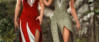 Набор платьев для Genesis 2